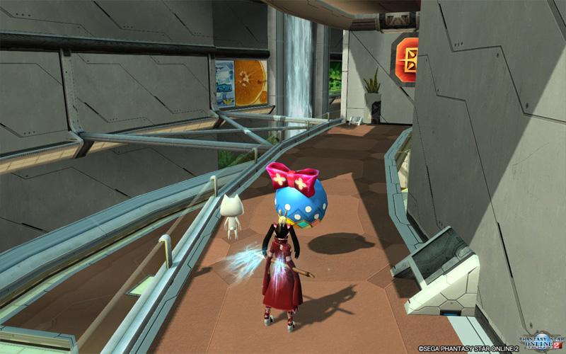 [PSO2] Phantasy Star Online 2「ショップエリアのイーツターエッグを探してみました。」