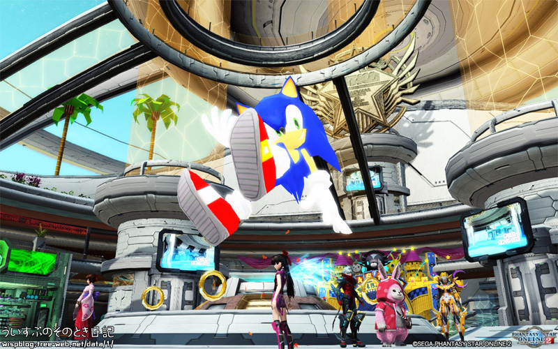 [PSO2] Phantasy Star Online 2「Sonic's Birthday 2016」
