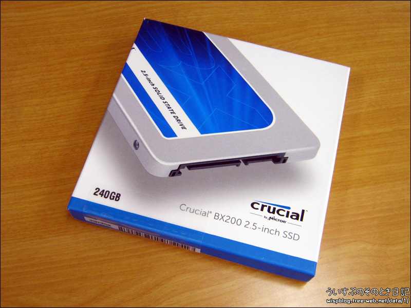 Crucial CT240BX200SSD1 SSD 2.5インチ