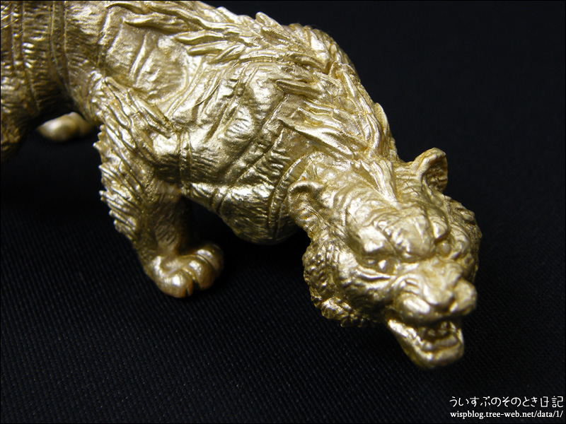 世界の伝説生物フィギュアコレクション 四聖獣 「塗装がんばる 3」