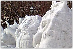 12丁目市民雪像