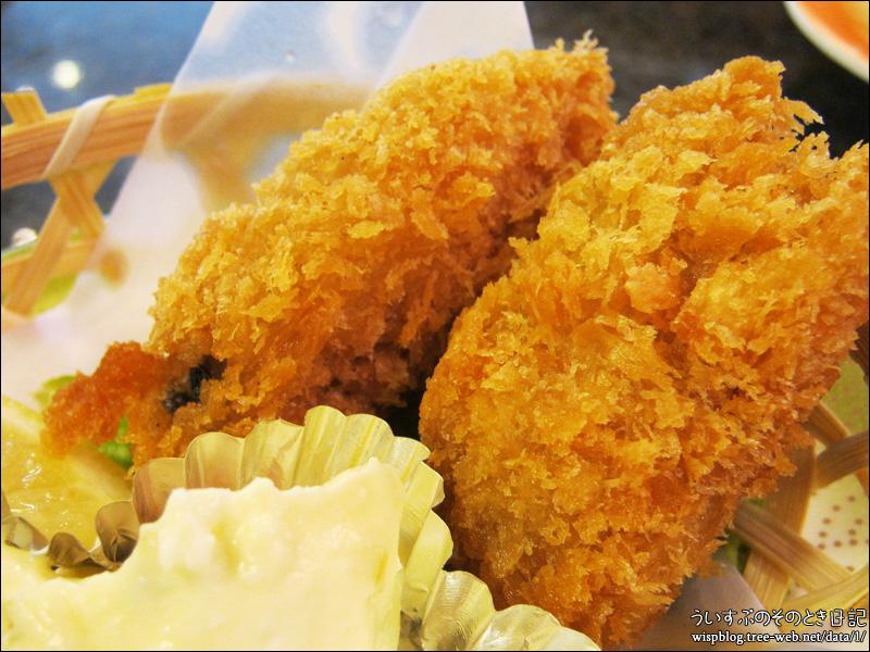 回転寿司 まつりや 「カキフライ」