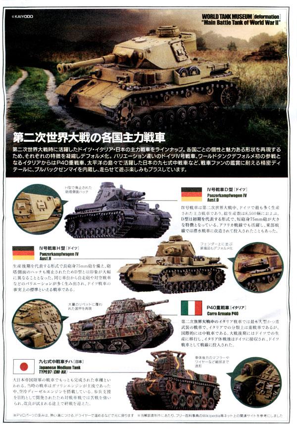 ワールドタンクデフォルメ4 〜WWII主力戦車編〜