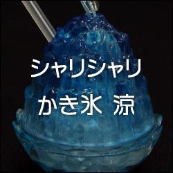夏にぴったりのカプセルトイ 「シャリシャリかき氷 涼」 [エポック社]