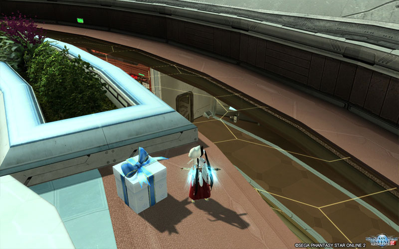 [PSO2] Phantasy Star Online 2「ショップエリアのホワイトデーボックスを探してみました。」