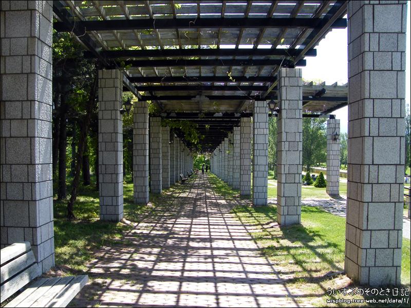 前田森林公園 サンクガーデン