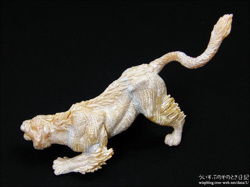 世界の伝説生物フィギュアコレクション 四聖獣 「塗装がんばる 2」