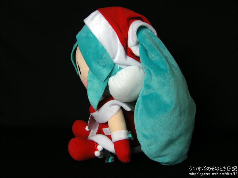 """メガジャンボぬいぐるみ""""初音ミク クリスマス"""""""