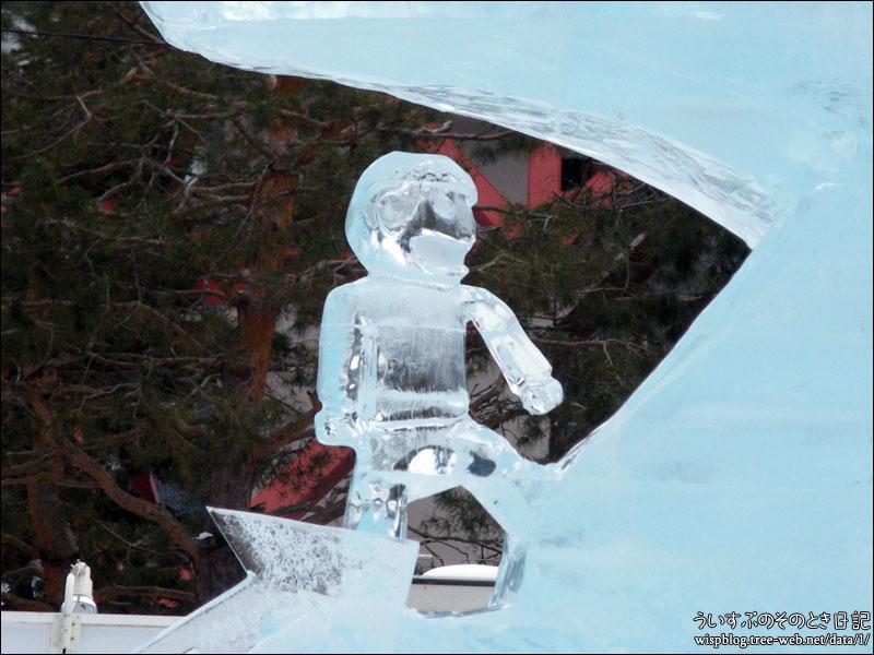 氷の広場 大氷像「ホエール・ホーム」