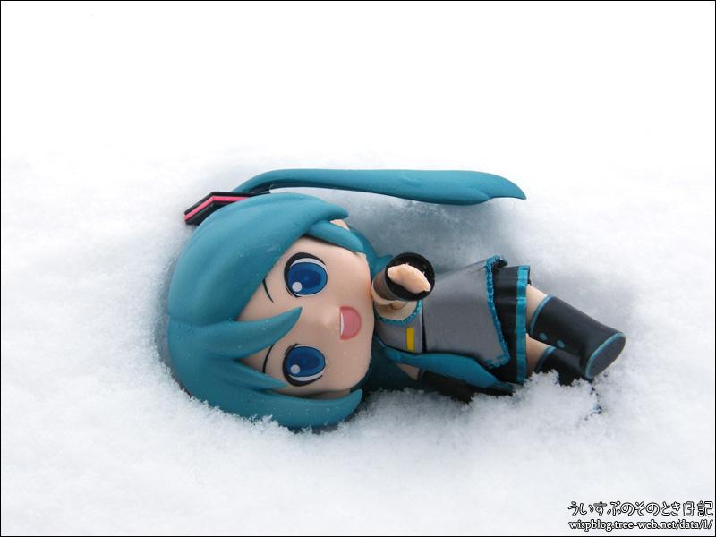 雪 2017/11/18 ミクダヨー