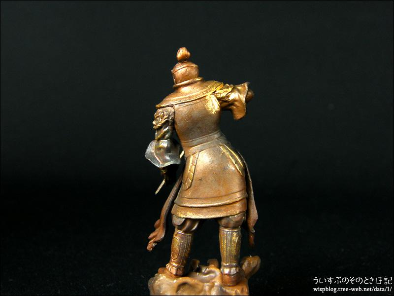 カプセルQミュージアム 日本の至宝 仏像立体図録3 威容の四天王編