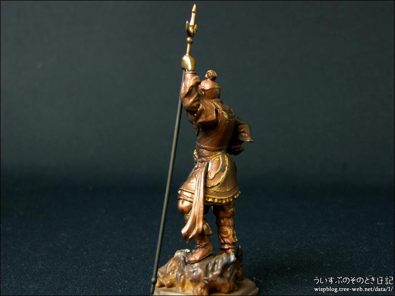 カプセルQミュージアム 日本の至宝 仏像立体図録3 威容の四天王編 「増長天」
