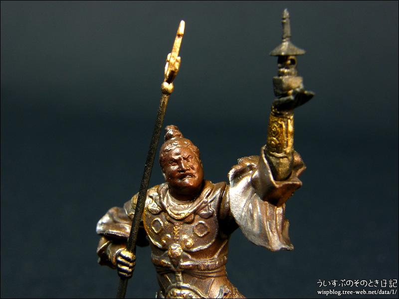 カプセルQミュージアム 日本の至宝 仏像立体図録3 威容の四天王編 「多聞天」