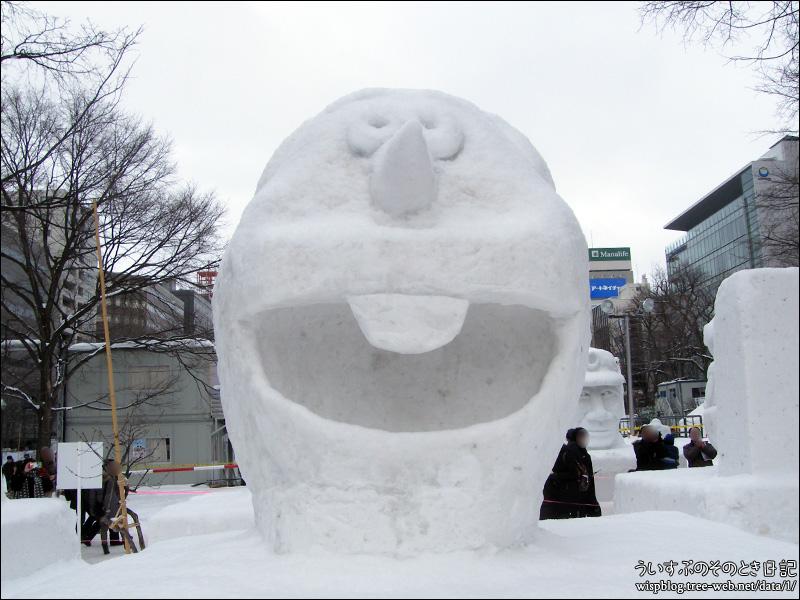 #12「オラフ」| 第69回さっぽろ雪まつり -SAPPORO SNOW FESTIVAL 2018- 大通 9丁目 市民の広場
