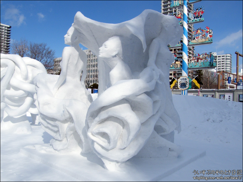 中国 | 第69回さっぽろ雪まつり -SAPPORO SNOW FESTIVAL 2018- 大通 11丁目 国際広場