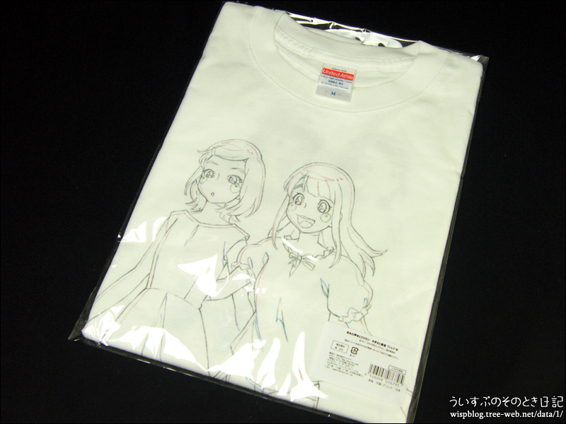キャラアニ.com福袋 『ハッピーサマーBOX 【男性向け】』  きみの声をとどけたい なぎさと紫音 Tシャツ