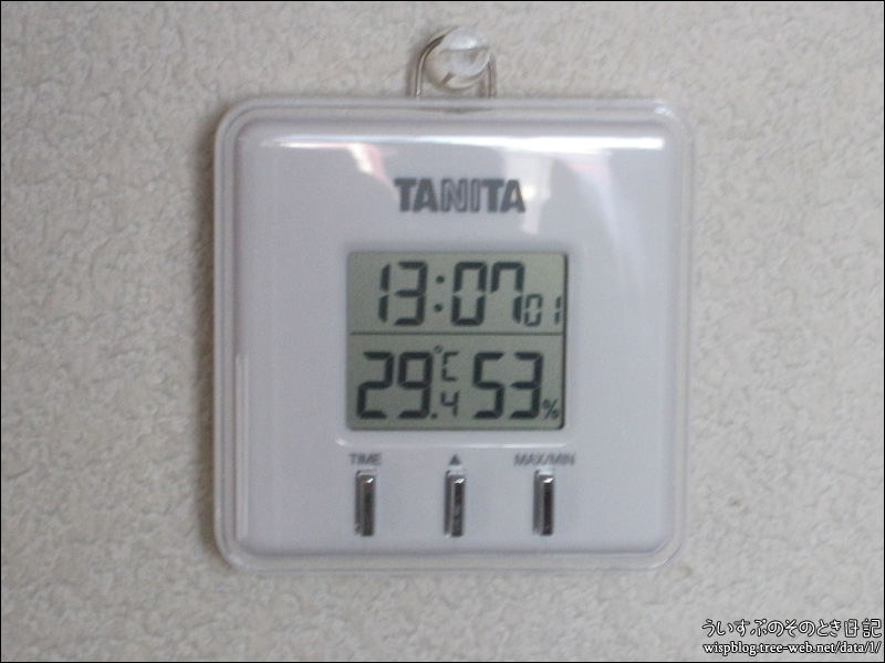 13時 室温