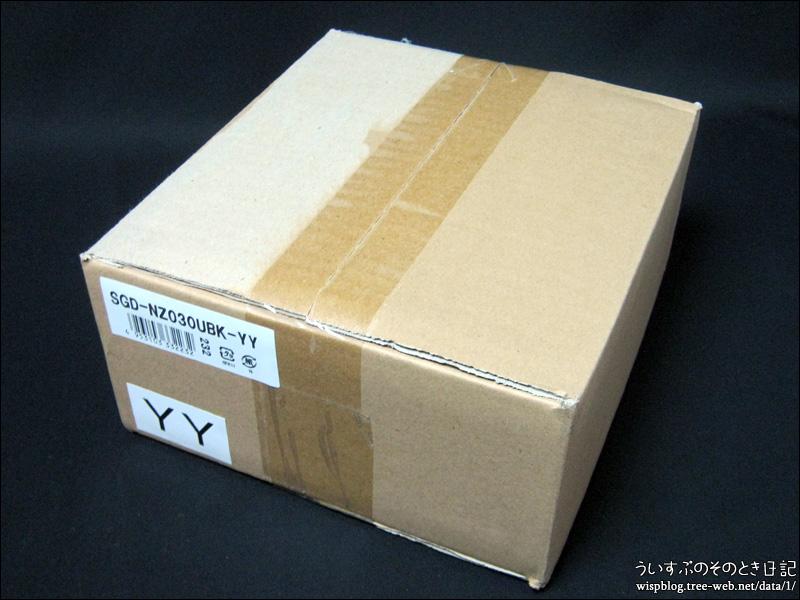 外付けハードディスク 3.0TB SGD-NZ030UBK