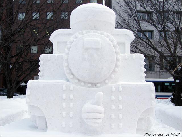 SLの有志「大雪像製作ボランティア」