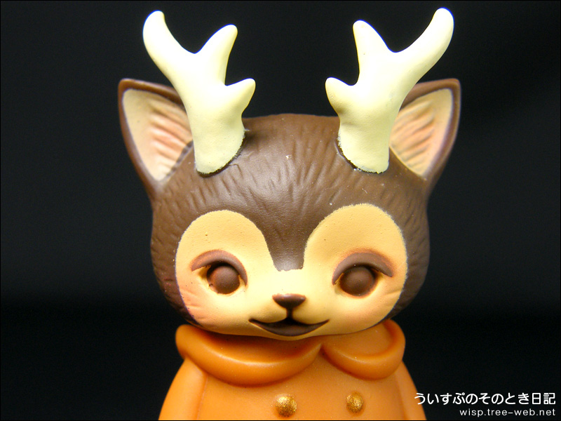 VAG SERIES 16 hinatique MORRIS The Cat With Antlers [メディコム・トイ]