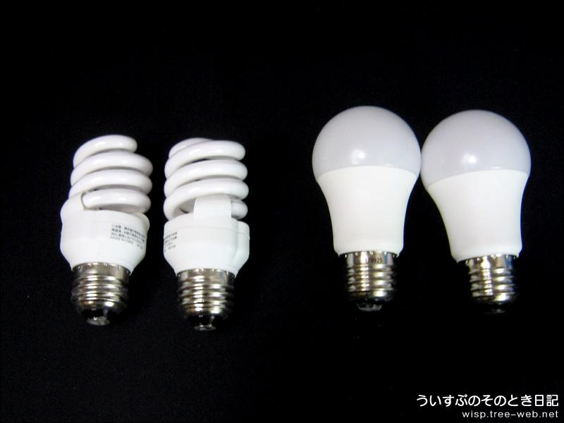 電球型蛍光灯/電球型LED