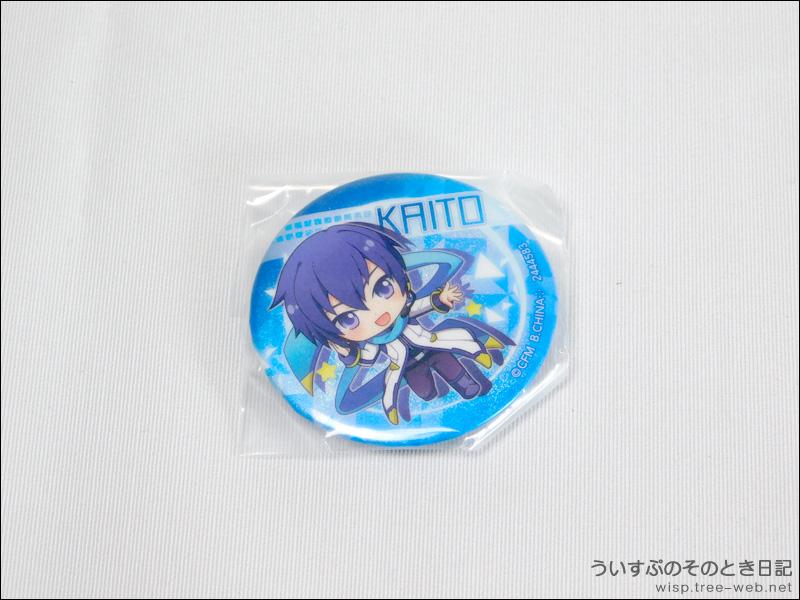 初音ミク あそーと 〜マジカルミライ2018〜 「缶バッジ : KAITO」