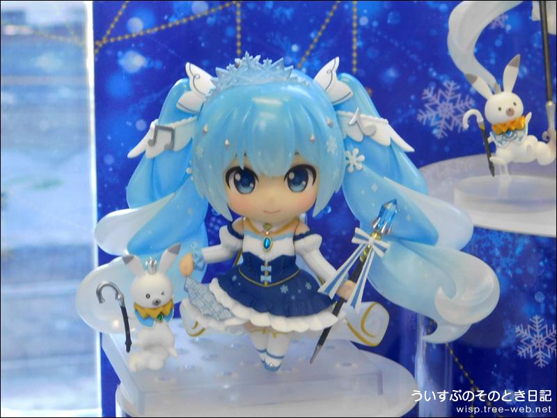雪ミク電車2019 内覧会 「ねんどろいど 雪ミク Snow Princess Ver.」