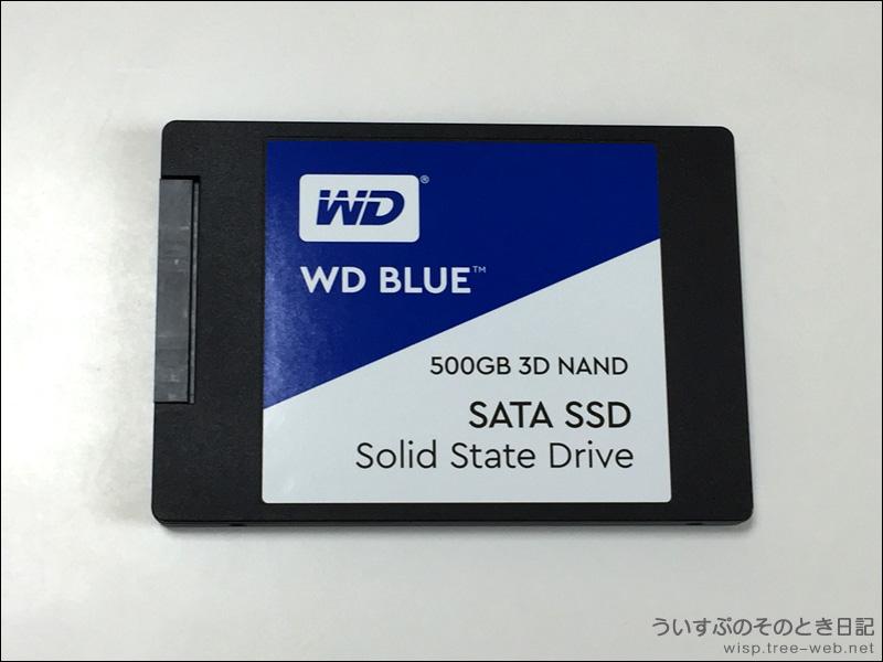 WD SSD 500GB WD Blue 3D WDS500G2B0A