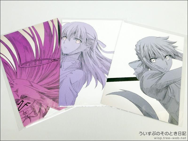 劇場版「Fate/stay night [Heaven's Feel]」?U.lost butterfly  × ローソンキャンペーン 「A2ポスター」