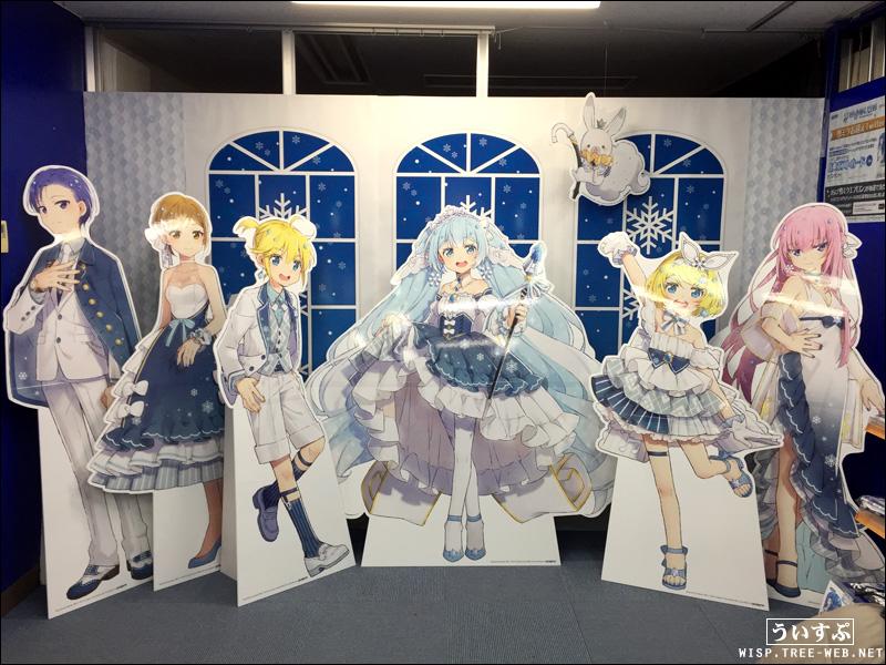 雪ミク アニメイト札幌店 特設ショップ