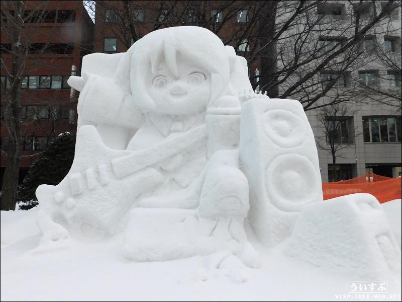 市民雪像 ミクダヨー