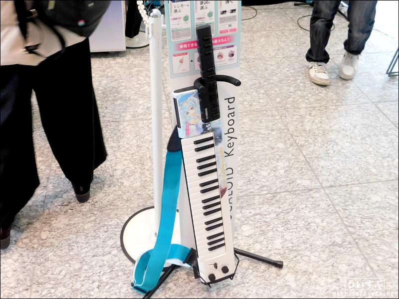 SNOW MIKU 2019 SCARTS会場 「ボーカロイドキーボード」