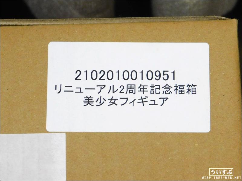 リニューアル2周年記念福箱 美少女フィギュア