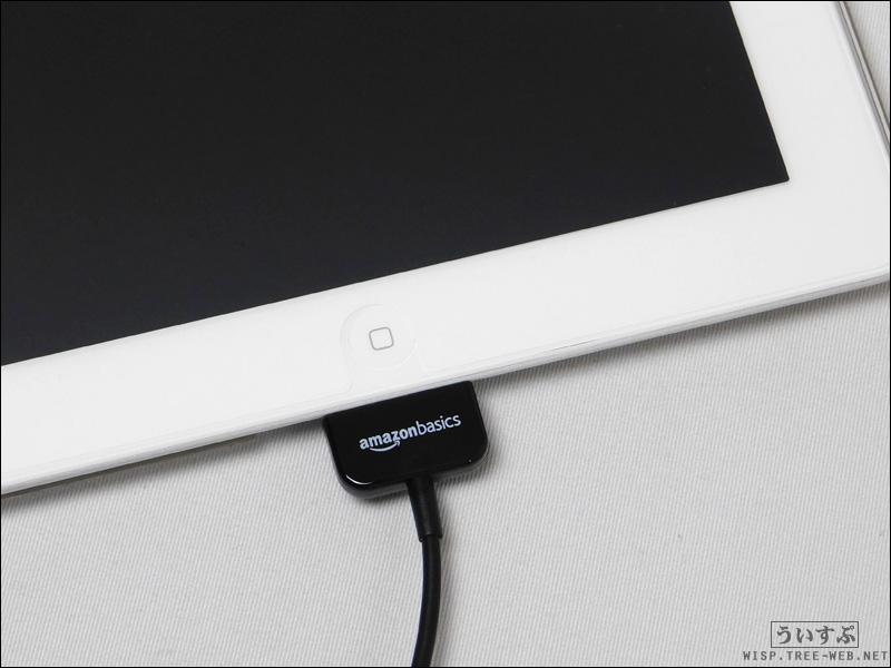 Amazonベーシック Apple認証 30ピン DOCKケーブル