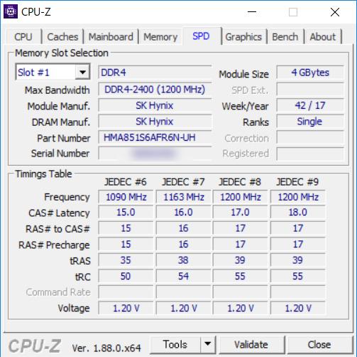 EPSON Endeavor NJ6100E [CPU-Z SPD]