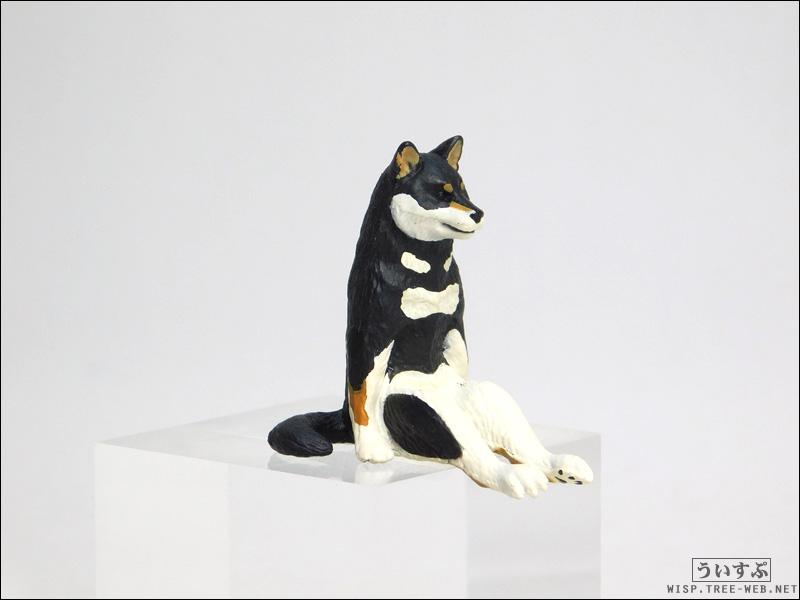 座る犬 [キタンクラブ] - クロシバ -