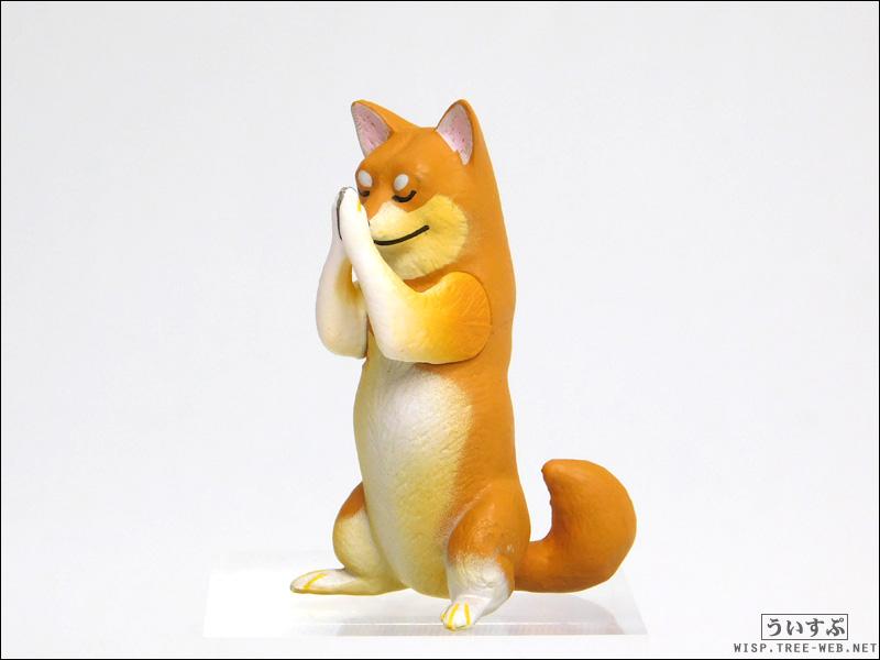 合掌 Gassho [エール] −柴犬−
