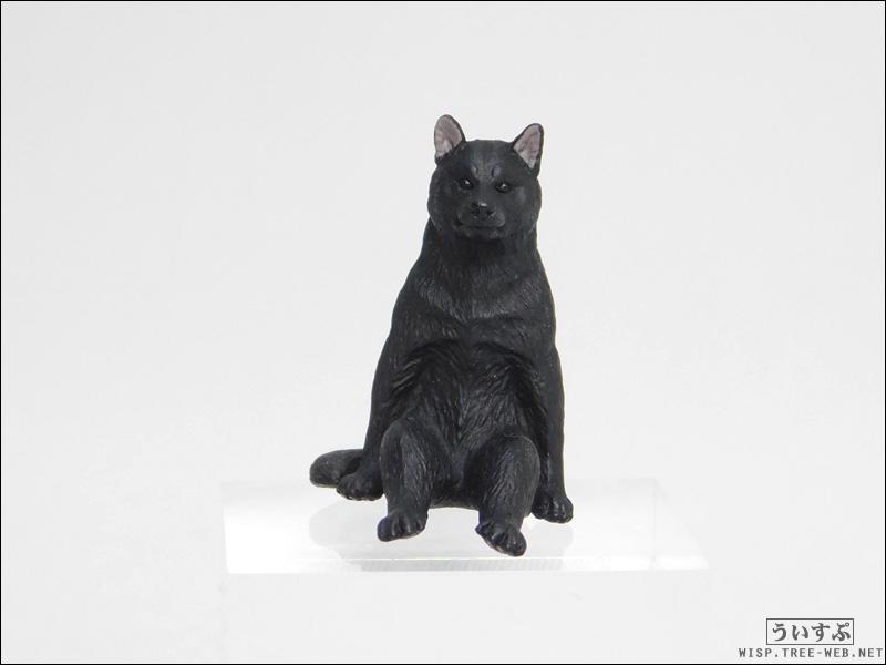 座る犬 [キタンクラブ] −クロ−