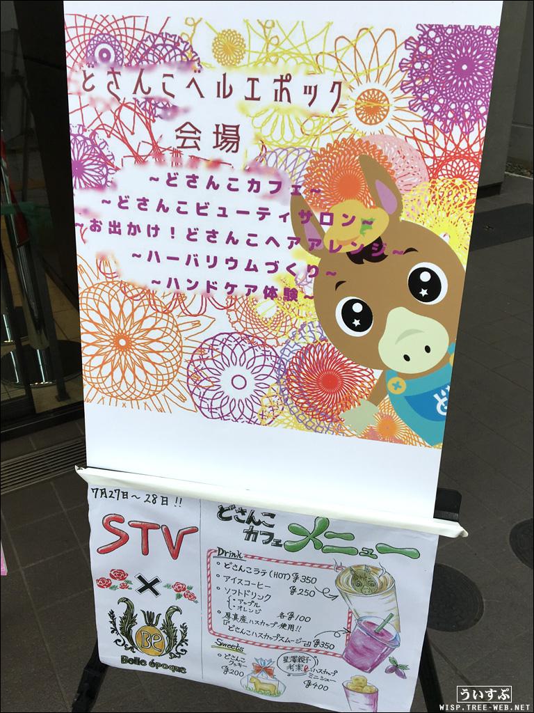 STVどさんこ町内会 夏祭! どさんこカフェ