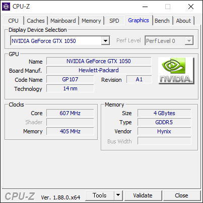 HP Pavilion All-in-One 24 第9世代 Intel CPU [CPU-Z : SPD]