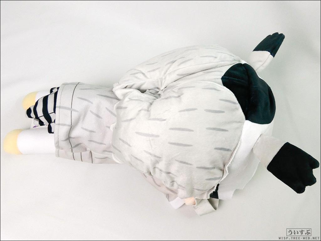 """けものフレンズ メガジャンボ寝そべりぬいぐるみ  """"アフリカオオコノハズク"""" [セガ]"""