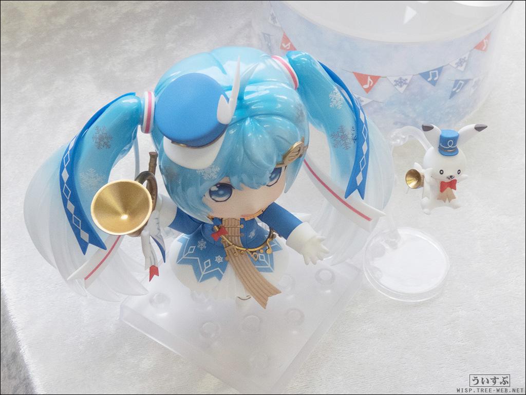「SNOW MIKU 2020 雪ミク電車 内覧会」ねんどろいど 雪ミク Snow Parade Ver.