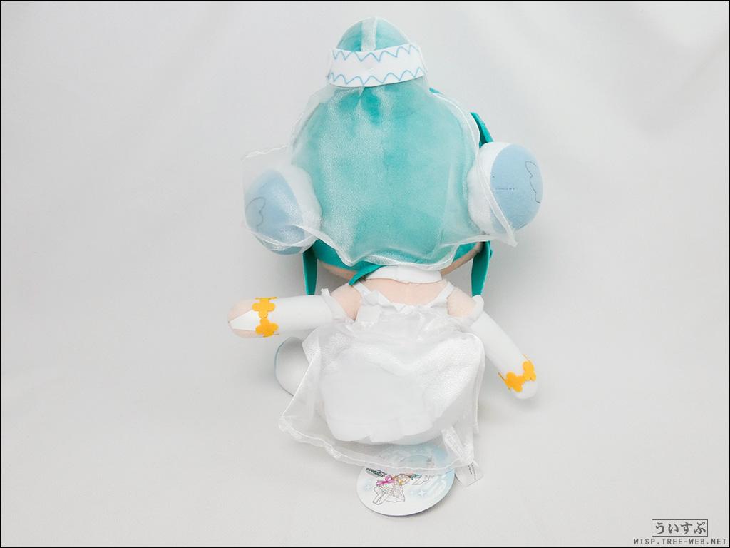 """初音ミク Project DIVA Arcade Future Tone スペシャルふわふわぬいぐるみ """"初音ミク−ホワイトドレス""""[セガ]"""