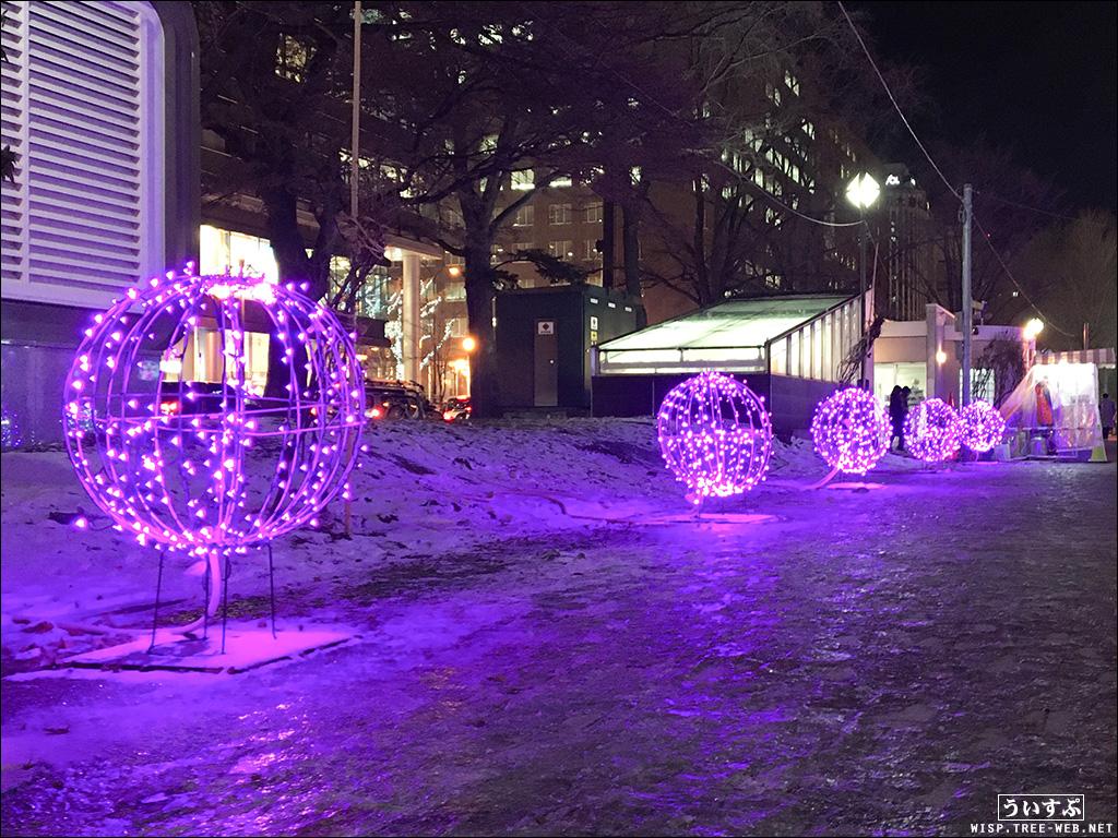 第18回 ミュンヘン・クリスマス市 in Sapporo / ホワイトイルミネーション