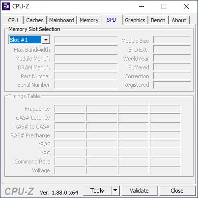 DELL Inspiron 24 5000 フレームレス デスクトップ [CPU-Z / SPD]