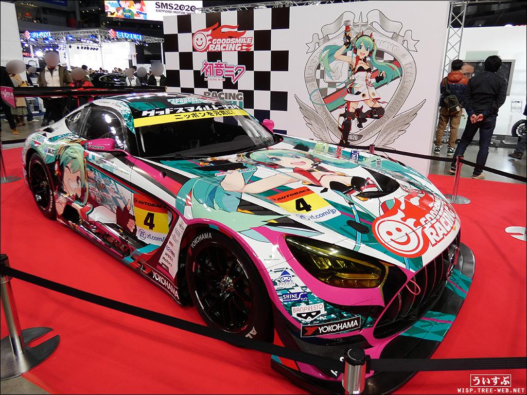 札幌モーターショー(レーシングミク)