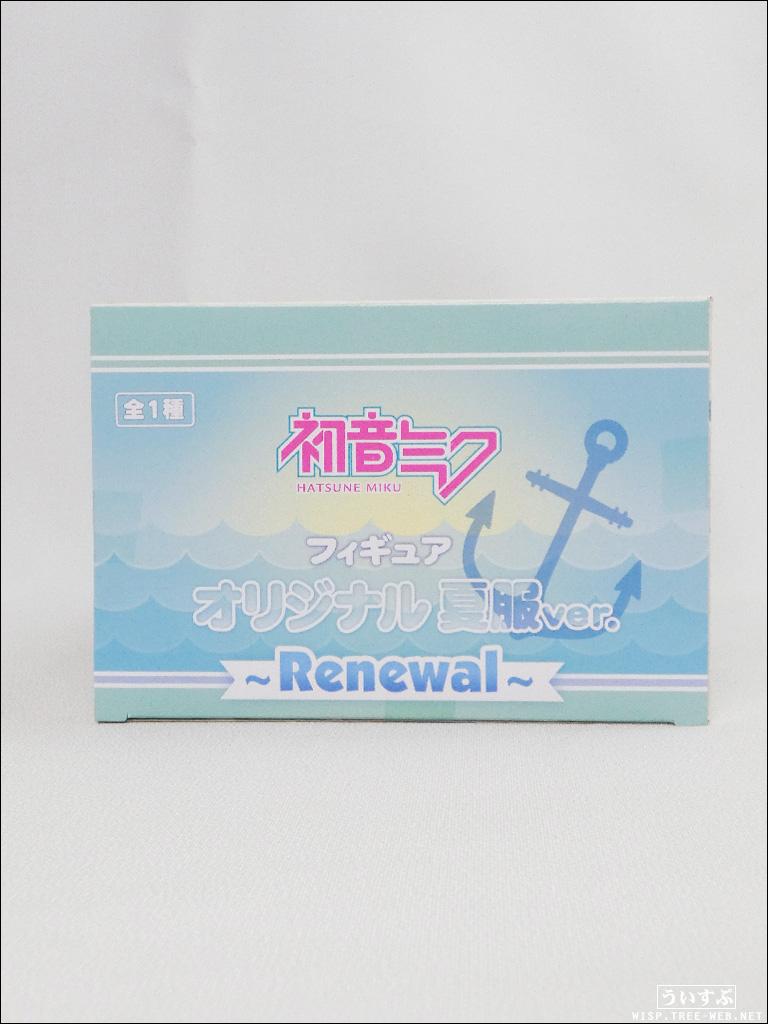 初音ミク フィギュア オリジナル夏服ver. 〜 Renewal 〜 [タイトー]