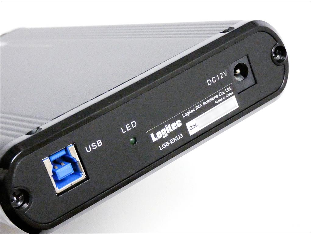 ロジテック 外付けHDDケース LGB-EKU3