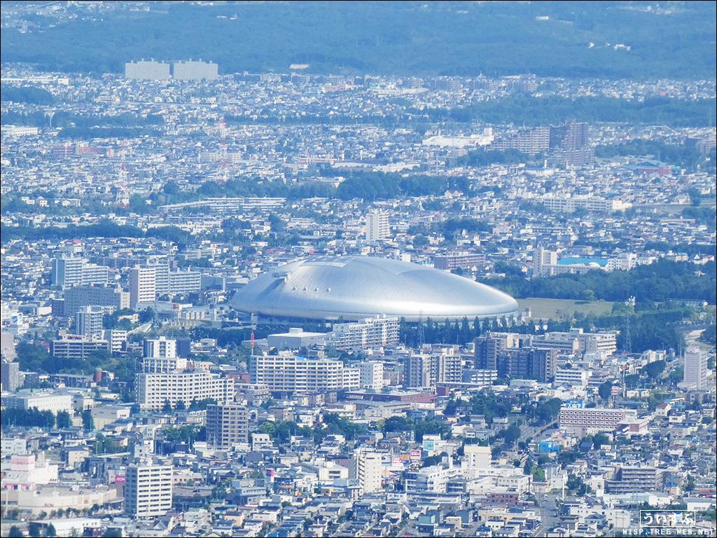 藻岩山:展望台 (札幌ドーム)