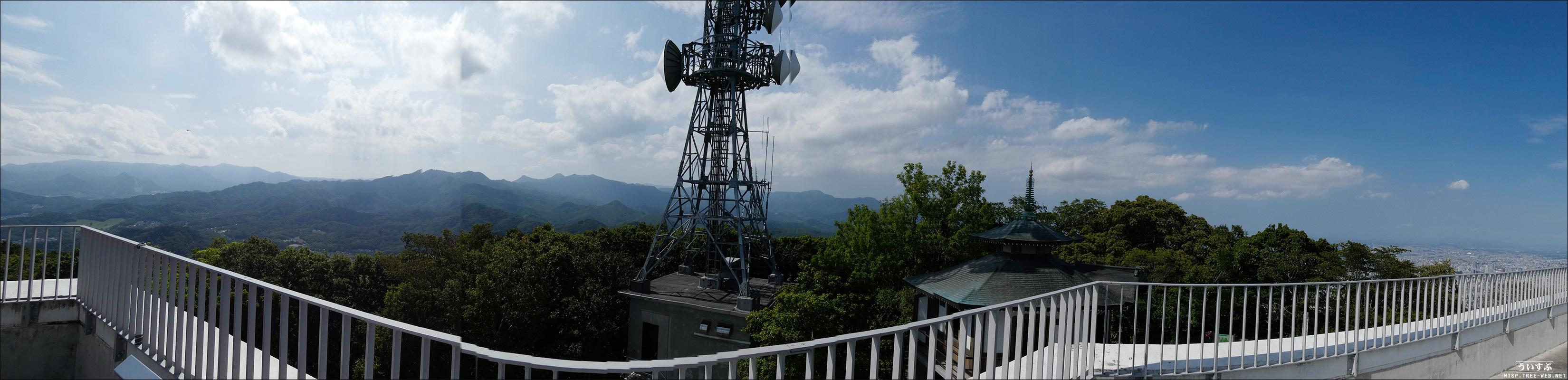 藻岩山:展望台 (パノラマ)